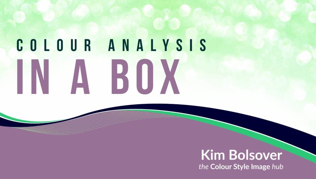 colour analysis training in a box